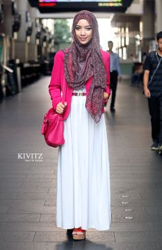 modest pinkblazer