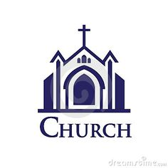"""I am a professional Church Logo Designer. Do you need any """"Church Logo Logo or Church Logo Brand Design""""? I can Design the Best Church Logo for your Brand or Company. Please contact me. Thanks for reaching out to me. Logo Design Services, Branding Design, Building Logo, Church Logo, People Logo, Church Design, Christian Church, Home Logo, Letter Logo"""