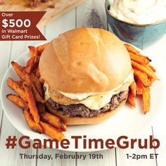 Having a watch party for your favorite sporting event? Maybe you're looking for delicious dishes to feed your team during the week? Whatever your game plan, Alexia has the options that will leave them cheering! Join us for this fun #GameTimeGrub Twitter party on February 19th at 1pm ET to share recipes and ideas for a celebration that will please all your hungry guests! Prizes too! #ad