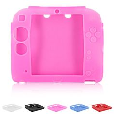 Rubber Silicone Cover Fundas for Gel Protective Case Skin Housse For Nintend Game Accessories Nintendo 2ds, Skin Case, Cover, Pink, Ebay, Console, Electronics, Products, Pink Hair