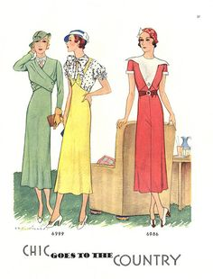 McCalls Fashion By-Monthly, 1932