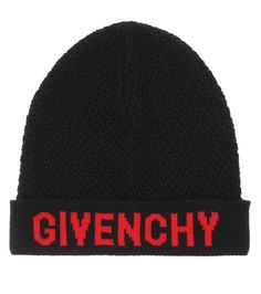 e006853d4aa Givenchy Knitted wool beanie Givenchy Hat