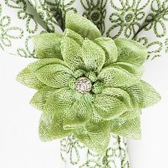 Juliska Dahlia Napkin Ring | Bloomingdale's