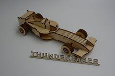Intellective DIY Model Racing Car