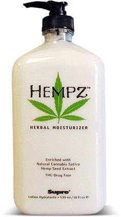 Hempz Lotion  Wonderful lotion!  Been using it for years and love it.  Original scent, Cucumber & Jasmine and the newest Pomegranate one too.