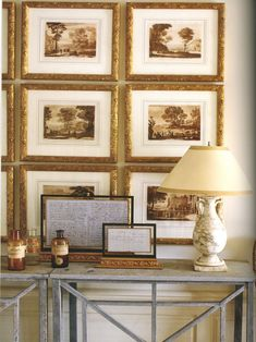 barry dixon....great styling with matching frames and matting