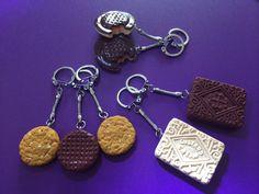 Biscuit Keyrings visit CarrieCrafts on Facebook for more designs