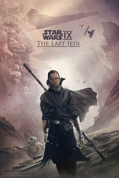 Star Wars Episode IX: The Last Jedi Concept Poster - Created by Vin Hill