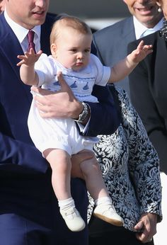 Prince George is barely 9 months old, but he's already getting rave reviews from his first royal tour.