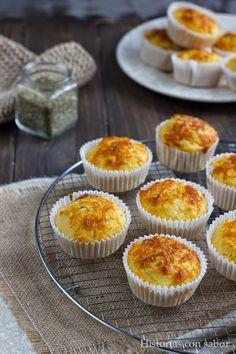 Muffins De Queso Parmesano