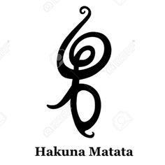 Hakuna Matata - Swahili Symbol