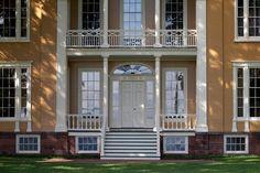 Boscobel Front Door Detail