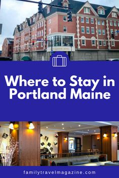 Guests visiting the fun city of Portland Maine have a lot of lodging options. Read about the best places to stay in Portland Maine, including our reviews of some of the best Portland hotels. Portland Hotels, Portland City, Portland Maine, Best Vacation Spots, Best Vacations, New England Travel, Lodges, The Good Place, The Best