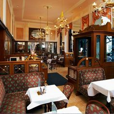 You can find dozens of traditional cafés in Vienna's Old City. Here you will encounter Viennese coffee house culture in its most original form. Sacher, Bakery Interior, Cosy Corner, Imperial Palace, Meeting Place, Cafe Shop, Shop Fronts, Shop Around, Pot Sets