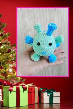 CROCHET PATTERN - virus amigurumi microbe pattern bacteria Simple instructions Plush handmade items Crochet Toys Patterns, Stuffed Toys Patterns, Crochet Hats, Handmade Ideas, Handmade Toys, Virus, Photo Processing, Happy Birthday Gifts, Funny Toys