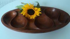 Laur Jensen teak bowl by Veryodd on Etsy, $95.00