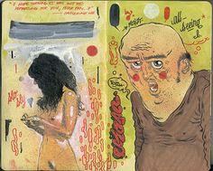 Andres Guzman || All My Pistachios #illustration #sketch #doodles