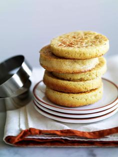 Classic, delicious crumpets for breakfast or teatime. #crumpets #food #breakfast