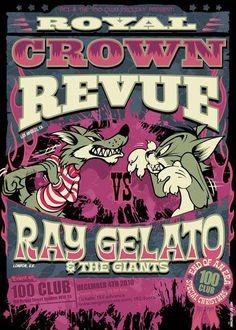 Royal Crown Revue & Ray Gelato Leviathan©  ••• #design #creative #create…