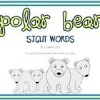 Help your young students learn the first Dolch List with this fun, polar bear-themed sight words activity.This pack includes:- 40 sight word car. Sight Word Activities, Class Activities, Winter Activities, Learning Resources, Student Learning, Dolch List, Polar Animals, Bear Theme, Word Walls
