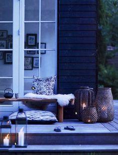 veranda wintergarten terrasse einrichten