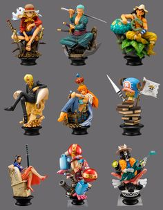 The Errant Cluster: One Piece Megahouse Chess Set