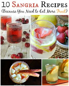 10 Sangria Recipes (Because You Need To Eat More Fruit)