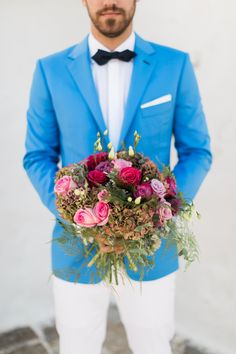 Boho chic inspiration at the Grand Resort Lagonissi - Wedding Moments, Something Blue, Bridal Looks, Real Weddings, Color Pop, Boho Chic, Most Beautiful, Wedding Day, Romantic