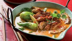 Litchi and duck breast thai red curry - Fragrantly spicy! #CurryInAHurry #Recipe