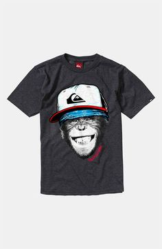 Quiksilver 'Monkey Business' T-Shirt (Big Boys) | Nordstrom
