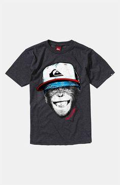 Quiksilver 'Monkey Business' T-Shirt (Big Boys)   Nordstrom