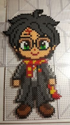 Beading 2020 – The Best Beading Ideas Are Here Melty Bead Patterns, Pearler Bead Patterns, Perler Patterns, Beading Patterns, Perler Bead Mario, Diy Perler Beads, Harry Potter Perler Beads, Art Harry Potter, Hama Beads Design