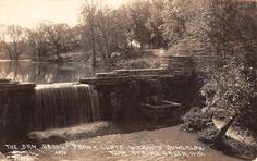 Spring Green Wisconsin Dam Frank Lloyd Wright Real Photo Antique Postcard K71573 | Collectibles, Postcards, Real Photo | eBay!