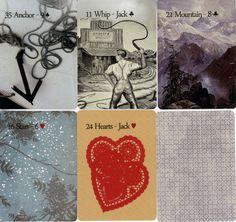 The Postmark Lenormand by Melissa Hill:  http://lenormand.info/