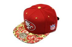 5caf9efe9 MITCHELL  amp  NESS - SAN FRANCISCO 49ers Floral Snapback  SNAPBACK   MITCHELL amp NESS