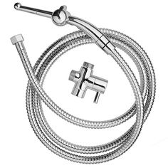 Cloud 9 Fresh + Premium Shower Enema Kit 6ft Hose Silver - This home shower enema douche can be used as a vaginal or anal cleaner. Comes complete with universal diverter valve, rounded insertion tip, and 6 foot hose. There are two flow regulators, one for your shower and one that allows you to increase or decrease the amount of water flow from the smooth nozzle tip for gentle vaginal or anal cleansing. Our smaller, thin nozzle has seven holes to properly disperse water for comfortable…