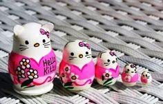 Hello Kitty Matroschka in 5 Teilen als MINI 3 cm - entzückend - NEU | eBay
