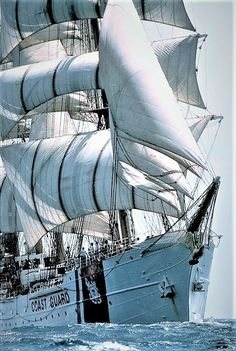 "US Coast Guard Barque ""Eagle"""