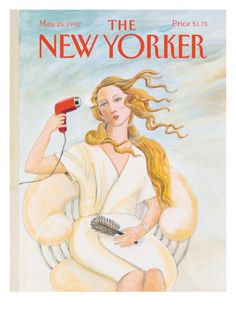 The New Yorker Cover - May 25, 1992 Poster Print  by Susan Davis at the Condé Nast Collection