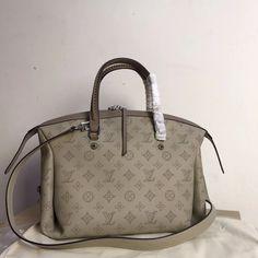Louis Vuitton lv woman handbag mahina asteria tote bag original leather version