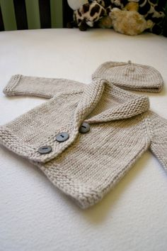 Baby Sophisticate - Free by Linden Down   malabrigo Worsted in Simply Taupe