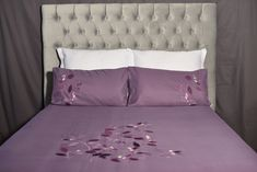 🐕 Big deals! Lilac Duvet Cover only at R380.00 Hurry. 100 Cotton Duvet Covers, Lilac, Bed Pillows, Pillow Cases, Embroidery, Big, Furniture, Home Decor, Pillows