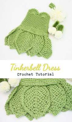 Crochet Tinkerbell Dress