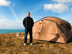 Thermo Tent, tent design, eco-camping, camping, thermally insulated material, Ireland, fiberglass, lightweight structure, Kickstarter, tunnel tents