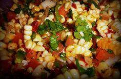 Fresh Corn Chipotle Salsa | Hispanic Kitchen