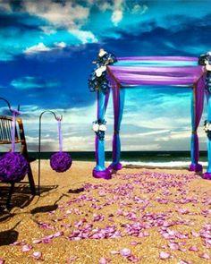 Beach wedding, outdoor wedding, destination wedding,
