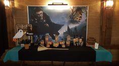Mesa de chuches Harry Potter comunion