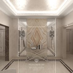 Дизайн прихожей в доме Entrance Hall Decor, Entrance Design, Wall Panel Design, Floor Design, Living Room Floor Plans, Hotel Lobby Design, Neoclassical Interior, Corridor Design, Hall Interior
