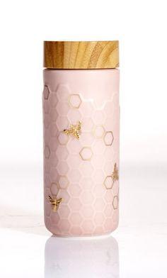 Honey Bee Travel Mug Gold Honey Bee Travel Mug Board: ❤️ earth Source by torischerle. Honey Bee Travel Mug Gold Baby Yellow, Mellow Yellow, Box Container, Container Gardening, Paperclay, Bee Happy, Bees Knees, Queen Bees, Gold Paint