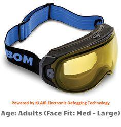 8e386a8a6e9b Universal Goggles Insert (Prescription Lenses Available) for Ski ...